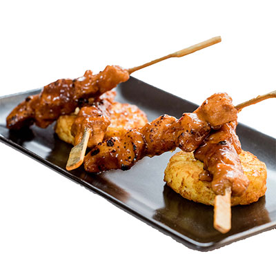 BROCHETAS TERIYAKY
