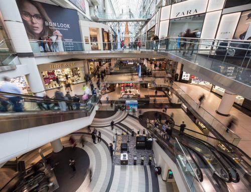 Franquicias en un Centro Comercial